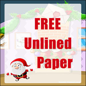 Christmas Writing Paper FREE 04