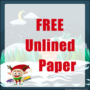 Christmas Writing Paper FREE 06