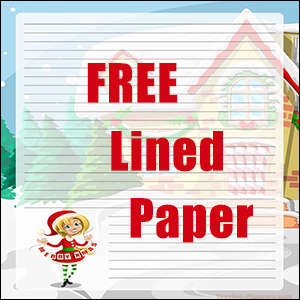 Christmas Helper Writing Paper FREE