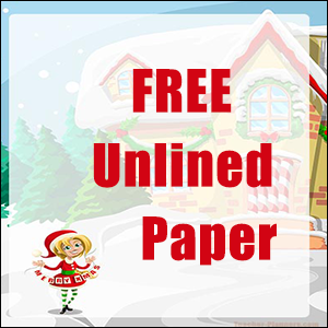 Christmas Writing Paper FREE
