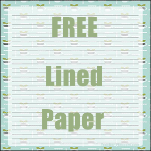 Free Digital Lined Paper Pot Plants
