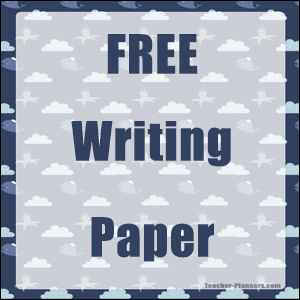 Writing Paper Sets Free