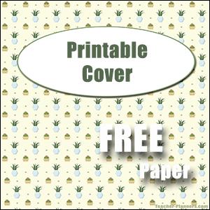 printable folder cover