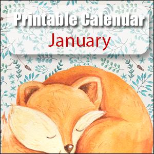 Printable Calendar January