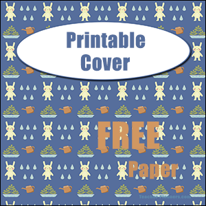 printable binder cover