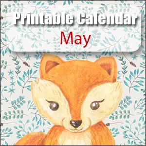 Printable Calendar May
