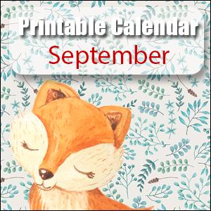Printable Calendar September