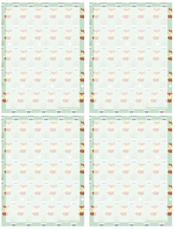 Printable Notepaper