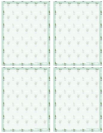 notepaper stationery