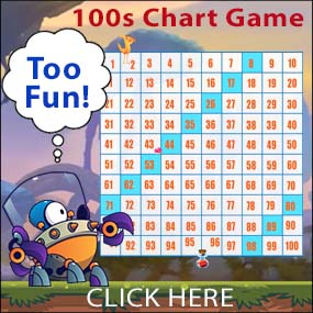 Check Out Our 100s Chart Game