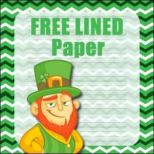 Stationery St Patricks Day