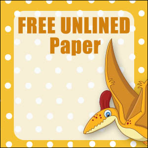 dinosaur stationary free printable 13