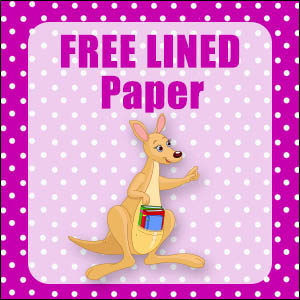 printable australian animal stationery free