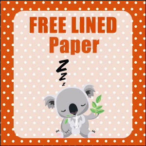 printable-australian-animals-stationery-free