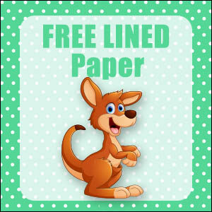 printable australian animals stationery free