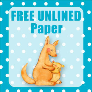 printable australian animal stationery free