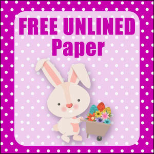 printable bunny stationery-free
