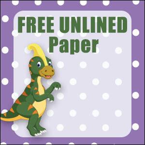 printable dinosaur stationery free