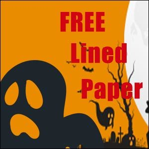 Free Halloween Stationery