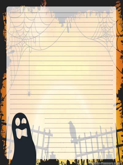 Halloween Stationery Free