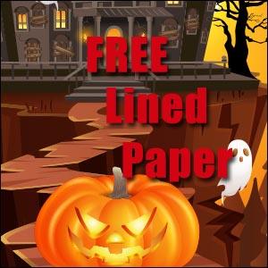 Free Halloween Stationery